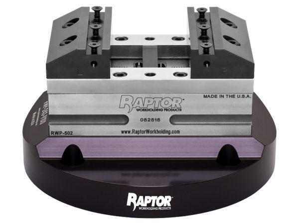 RWP-242-V100 Riser Plate with Vise Attached